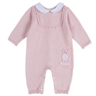 Вязаный комбинезон Pink Rabbit