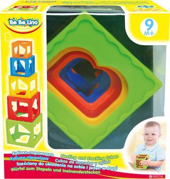 Игрушка Bebelino Кубики-пирамидка