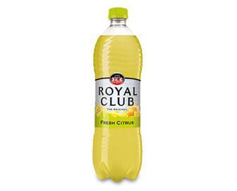 Напій безалкогольний газований «Свіжий цитрус»  Royal Club, 1 л