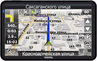 GPS-НАВИГАТОР DIGITAL DGP- 5051/5061