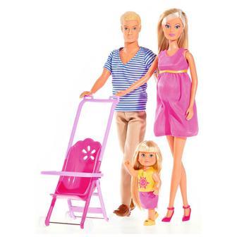 Игровой набор Счастливая семья Штеффи Steffi & Evi Love