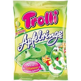 Цукерки Trolli Apfelringe 150г
