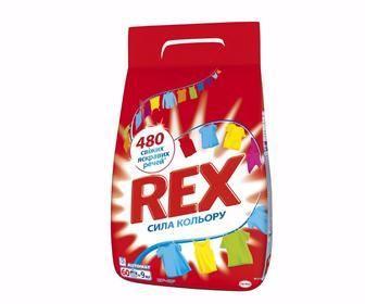 Пральний порошок 3кг Гель для автоматичного прання 1320 мл Rex