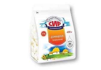 Сир кисломолочний 9% «Білоцерківський» - 400 г