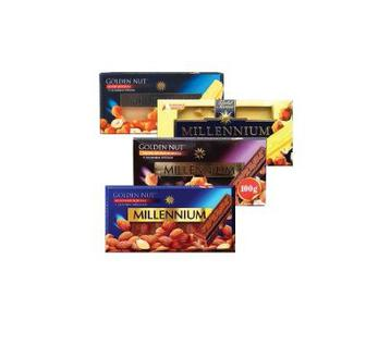 Шоколад з горіхами   Міленіум Голд 100 г