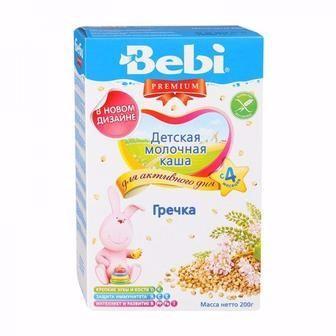 Дитячі каші Bebi Premium