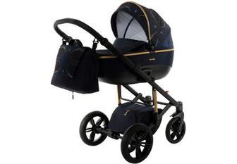Дитяча коляска універсальна 2 в 1 Tako Nocturne 02 Black