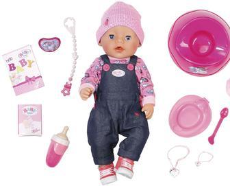 Лялька Baby Born, джинсовий стиль