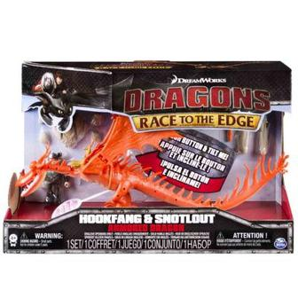 Игровой набор Кривоклик в броне з Сморкала Как приручить дракона (SM66607-2)
