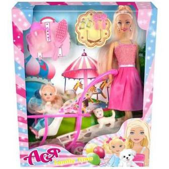 Кукла Toys Lab Семейная прогулка Ася Вариант 1 (35087)