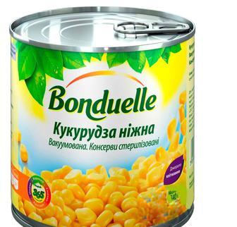 Кукурудза ніжна з/б , Bonduelle, 425мл