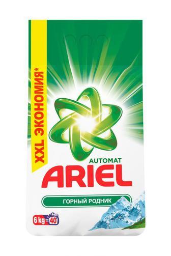 Стиральный порошок автомат Ariel 6 кг