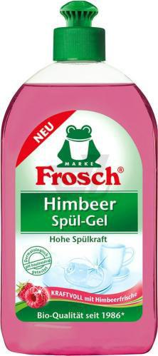 Бальзам для ручного миття посуду Frosch Малина 0,5л