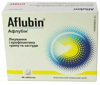 Афлубін противірусне табл № 12