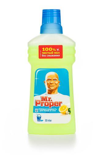 Скидка 16% ▷ Моющее средство MR PROPER Лимон, 500мл