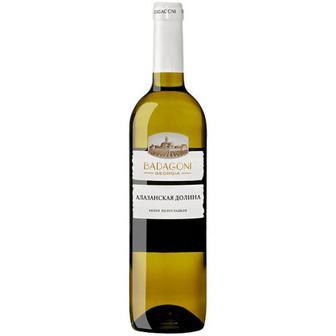 Скидка 33% ▷ Вино Badagoni Алазанська долина біле напівсолодке 0,75л