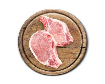 Свинина, корейка на кістці, охолоджена, кг