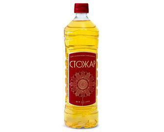 Олія соняшникова рафінована дезодорована, Стожар, 0,87 л