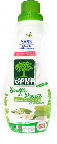 Кондиціонер для білизни L'Arbre Vert Дихання Чистоти 0.8 л