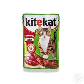 Корм для котів KiteKat 100г