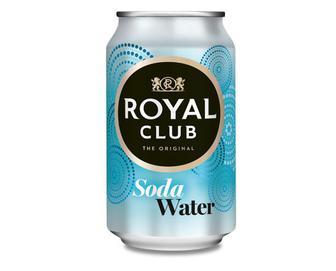 Напій безалкогольний газований, Содова вода, Royal Club, 0,33 л