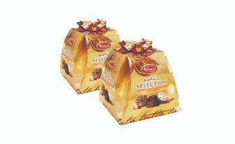 Цукерки асорті шоколадні Піраміде Селекшн Классік Віторс 300 г