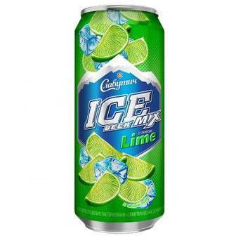 Пиво ICE Mix Lime Славутич 0,5 л