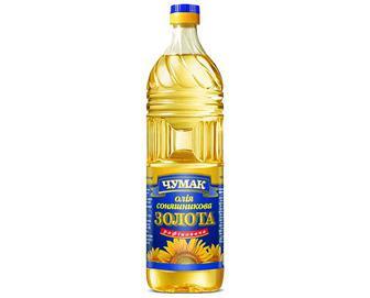 Скидка 19% ▷ Олія соняшникова «Чумак» рафінована дезодорована, 0,9л