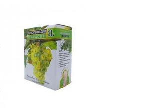 Вино белое сухое Шардоне, Alianta Vin, 3л