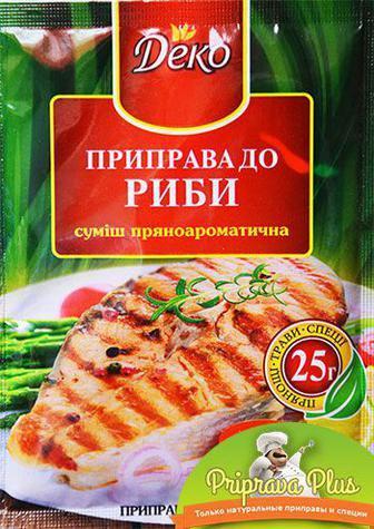 """Купить приправу для рыбы """"Деко"""" 25 г"""