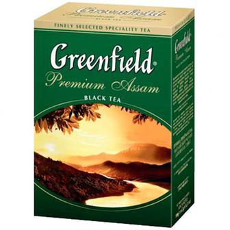 Чай Greenfield Premium Assam чорний 100г