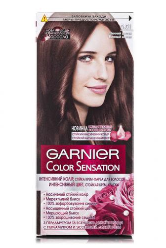 Крем-краска для волос COLOR SENSATION тон 5.51 Винный шатен