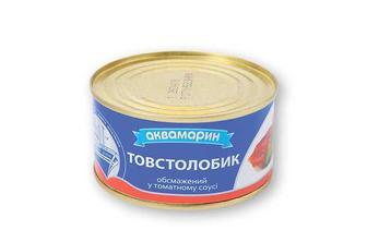 Консерви Товстолобик, обсмажений у томатному соусі Аквамарин 230 г