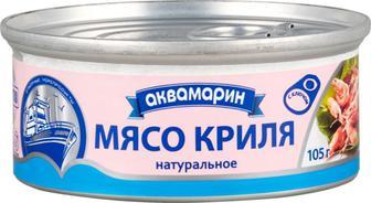 Мясо криля Аквамарин, 105 гр
