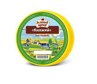 Сыр твердый Зеленый Хутор Княжий кг