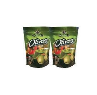 Оливки Dolivas зелені з кісточкою/без кісточки 200мл
