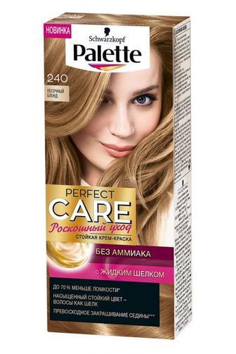 Краска для волос Palette Perfect Care тон 240 Песочный блонд