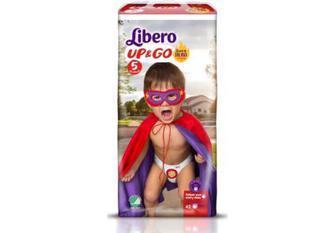 Підгузки-трусики Libero Up&Go Розмір 5 (10-14 КГ) 22 шт / Розмір 7 (16-26 КГ) 18 шт