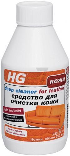 Засіб для чищення HG виробів зі шкіри 0,25 л