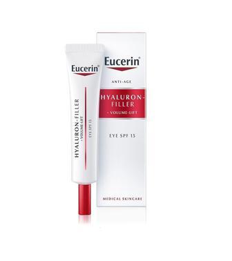 Крем Eucerin Hyaluron Filler Volume Lift антивозрастной для восстановления контура вокруг глаз SPF15 15 мл