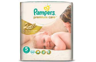 Подгузники PAMPERS Premium Care р5 11-18кг 44шт