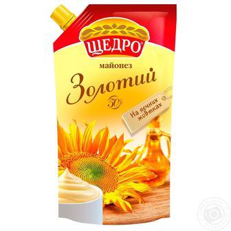майонез Провансаль Золотий 50% Щедро 350г