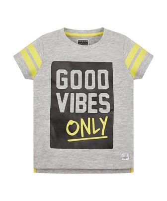 """Сіра футболка """"Гарний настрій"""" від Mothercare"""