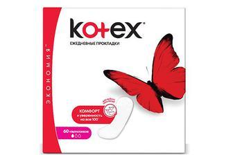Прокладки щоденні Kotex Super Slim, 50+10 шт./уп