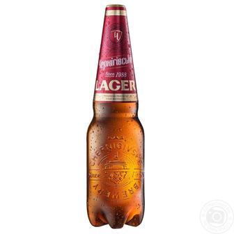 Пиво світле lager Чернігівське 1,1л