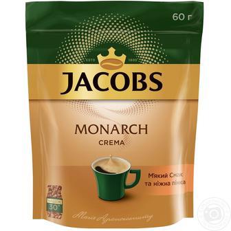 Кава розчина Монарх Економ пакет Якобз 60г