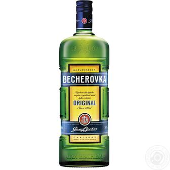 Ликерная настойка на травах Becherovka 38% 0.5л