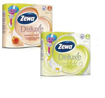 Папір туалетний Zewa deLuxe