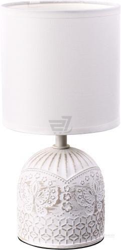 Настільна лампа декоративна Accento lighting 1x40 Вт E14 білий ALT-T-D4030W