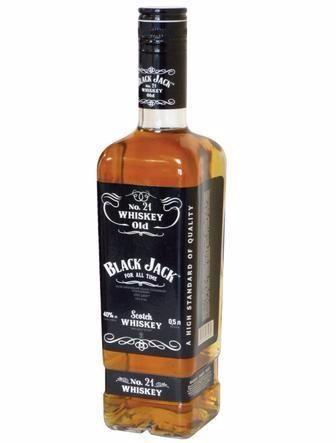 Напій алкогольний  Black Jack 0.5 л